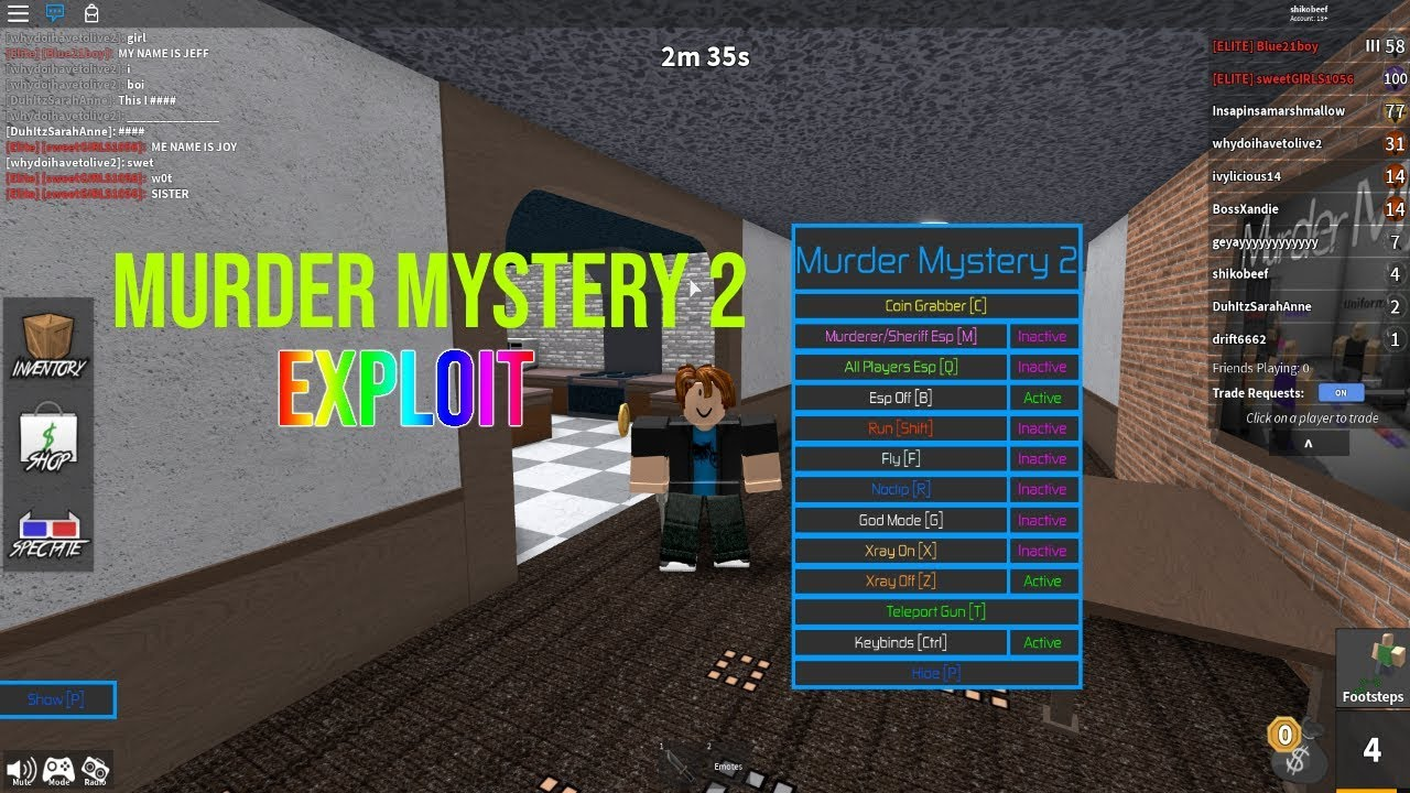 Someone Hacked My Godly Knives In Roblox Murder Mystery 2 Youtube Mm2 Script