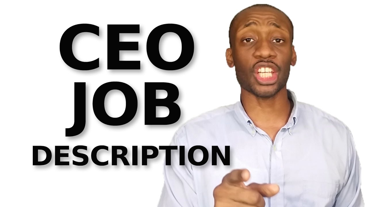 small business leadership ceo job description small business leadership ceo job description