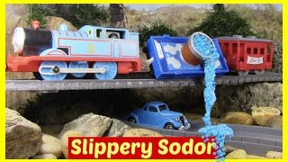 Thomas and Friends Accidents Will Happen Toy Trains Thomas the Tank Engine Full Episode Slippy Sodor