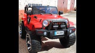 детский электромобиль Toy Land Jeep SH888 обзор