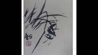 김선일한국화화실   자연- 문인화 난초 생각의 눈 032