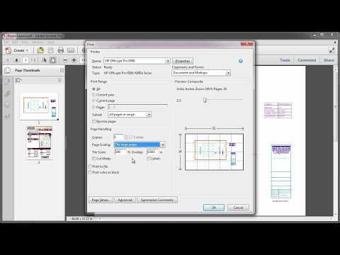 Printing In Acrobat X: Banners, Posters Or Large Pages | Adobe Document Cloud