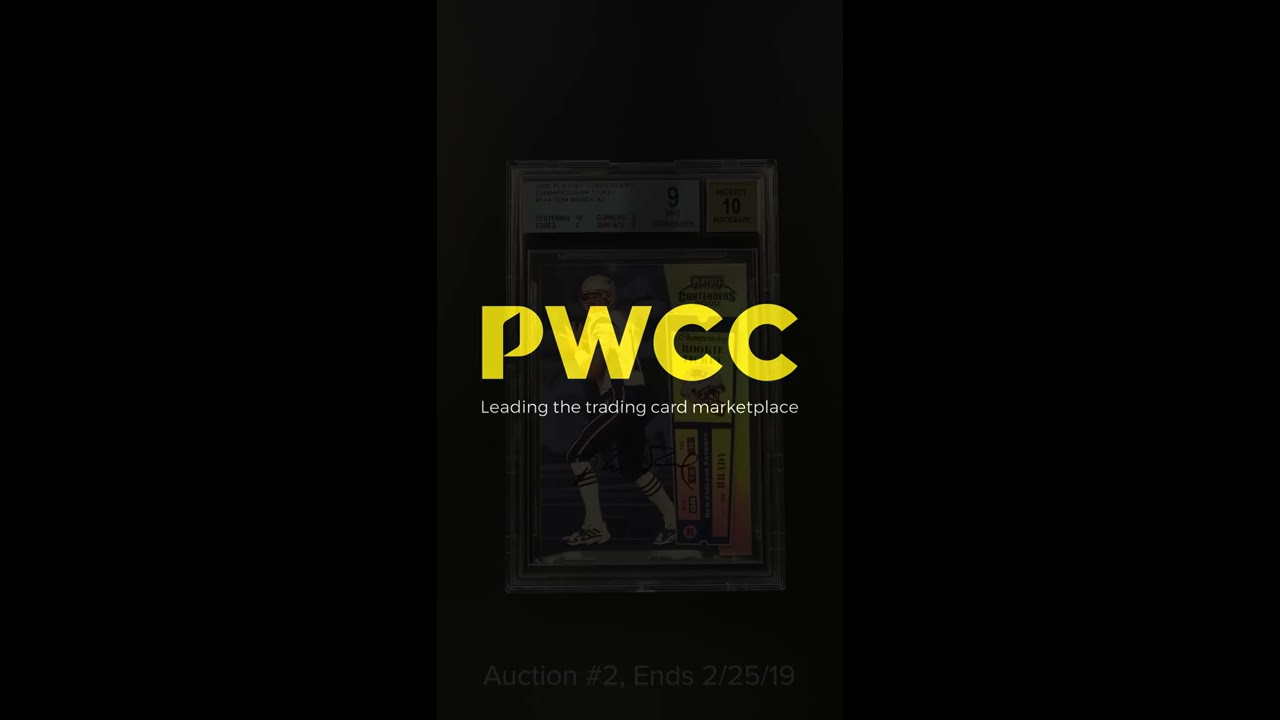 Tom Brady Rookie Card Sold For Record Auction Price