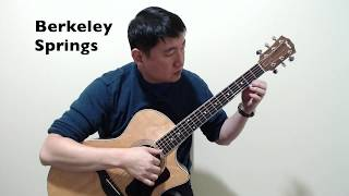 Berkeley Springs by Don Ross guitar cover