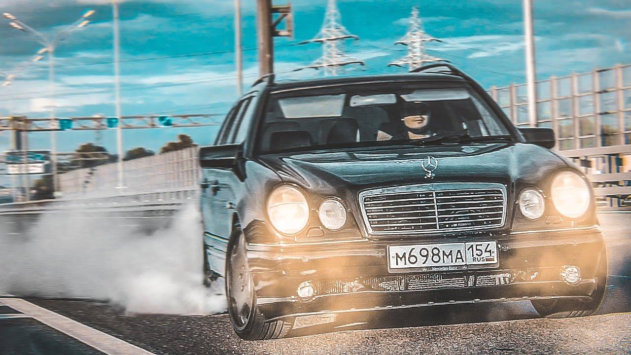 Mercedes-Benz E55 AMG Универсал (s210) - Трушный Вагон конца 90-ых! 1 из 5 живых в России!