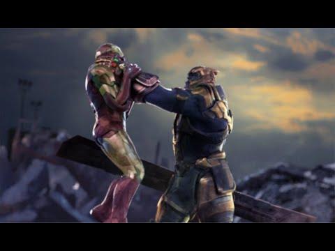 Avengers: Endgame | THANOS Vs IRON MAN (Fight Scene)