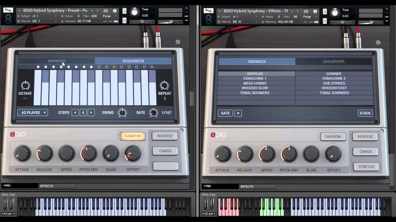 8Dio Hybrid Tools Synphony Orchestra and Synths