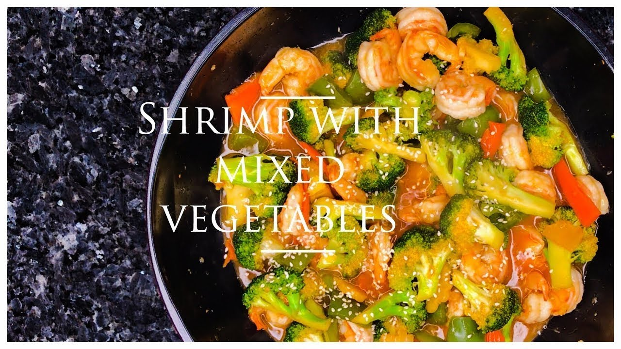 Shrimp with Mixed Vegetables - Yelp  |Shrimp With Mixed Vegetables
