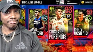 NEW 93 OVR UNICORN SPECIALIST MASTERS & PACK OPENING! NBA Live Mobile 18 Ep. 29