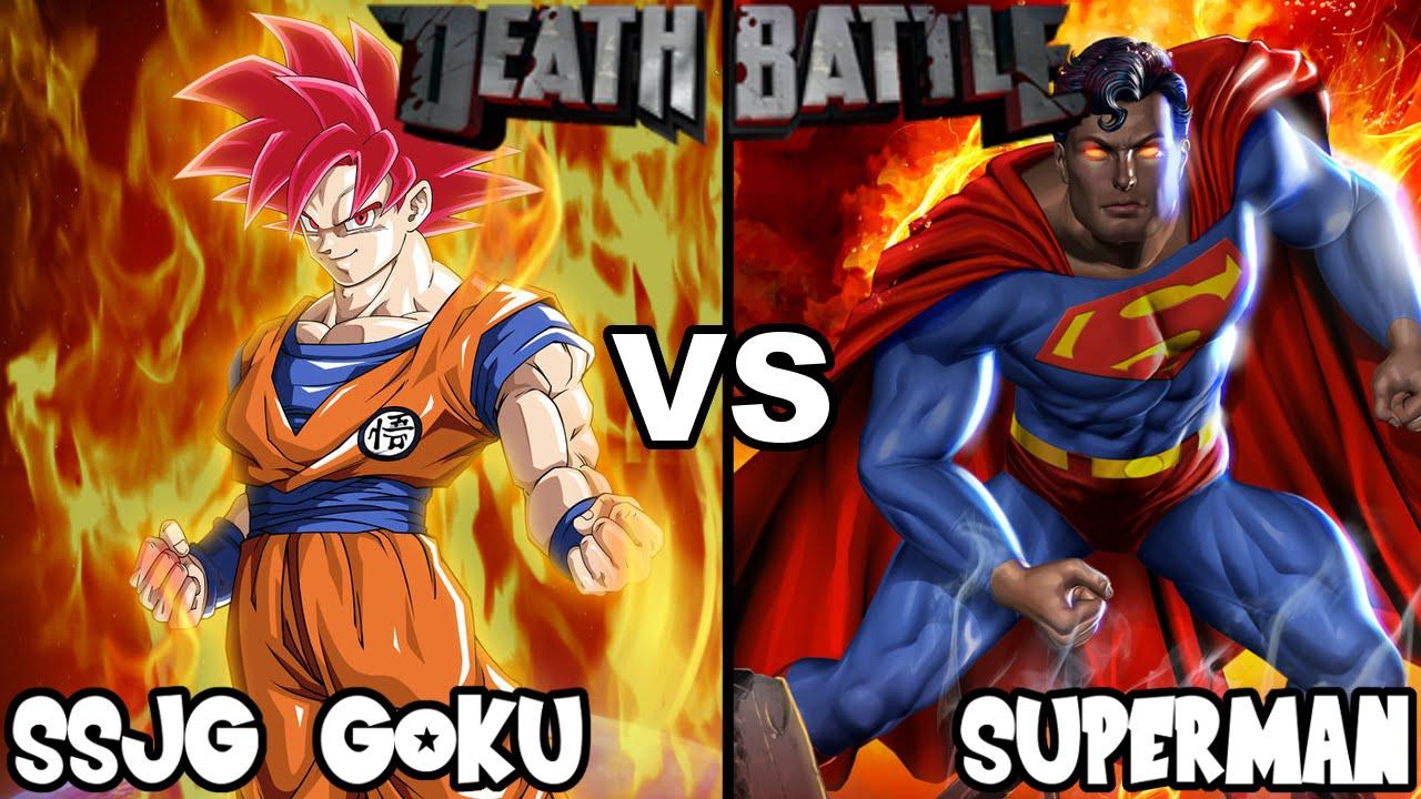 DEATH BATTLE: SSJG Goku VS Superman Rematch (Teaser Reaction) - YouTube