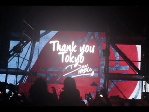 Don Diablo THE BEST COUNTDOWN to 2018 at ageHa Tokyo