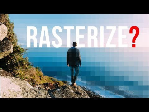 What Is Rasterize In Photoshop? Difference Between Raster, Vector, And Smart Objects