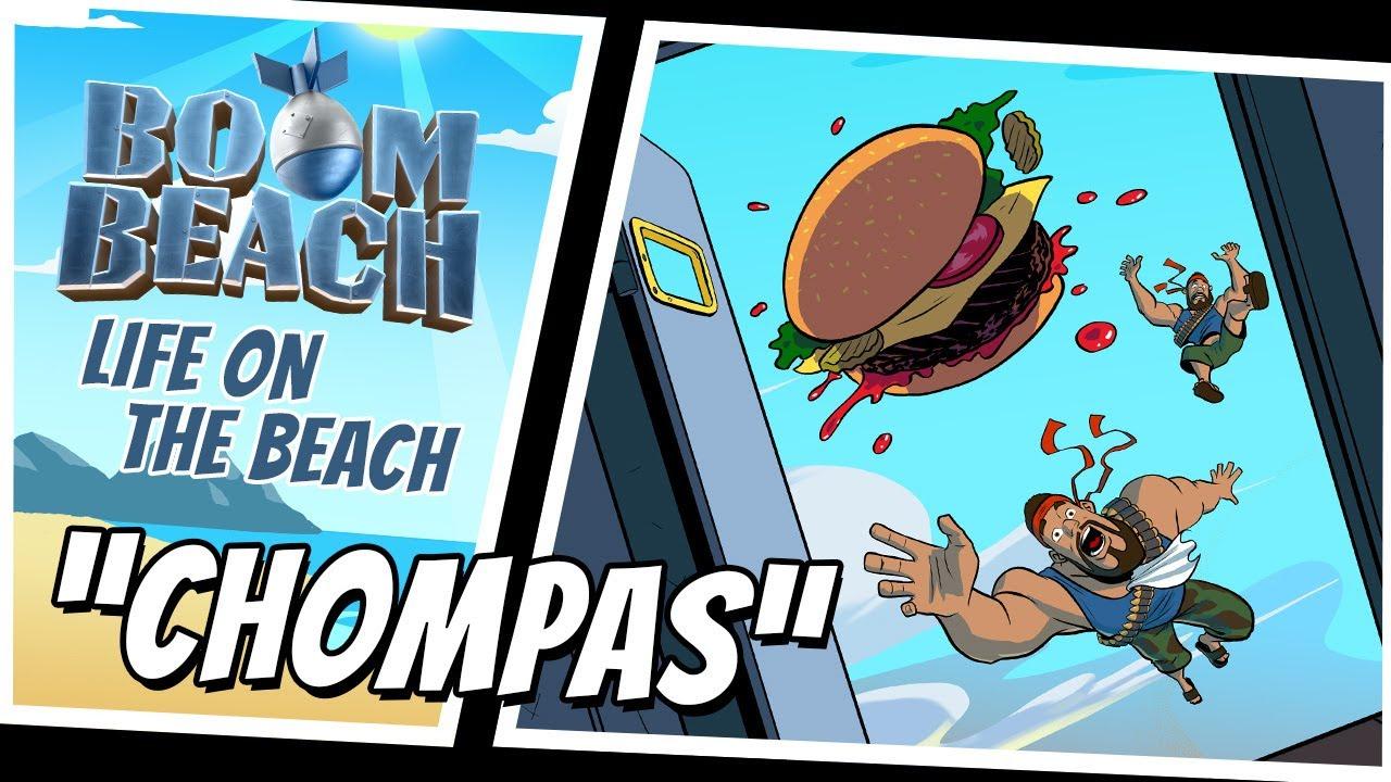 Boom Beach: Chompas!