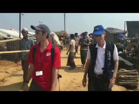 WHO supports health partners in Cox's Bazar, Bangladesh