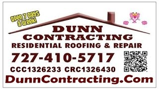 Roofing contractors Pinellas Dunn Contracting