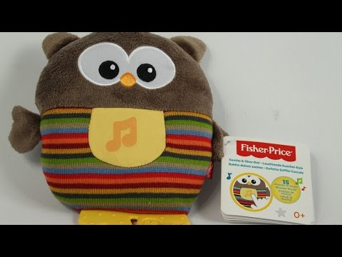 Fisher-Price - Soothe Glow Owl - CDN55