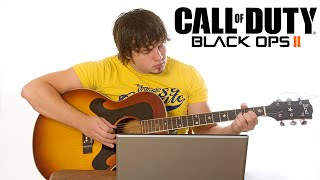 ZOMBIE GUITAR MUSIC TO THE LOBBY! (Black Ops 2)