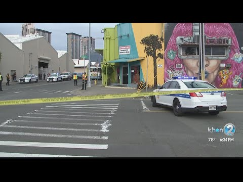 Police suspect alcohol or drugs in deadly pedestrian crash in Kakaako