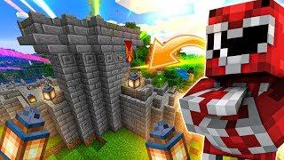 TORRE E CANCELLO LEGGENDARIO NELLE MIE MURA DEL VILLAGGIO! Minecraft Ita Anima #33