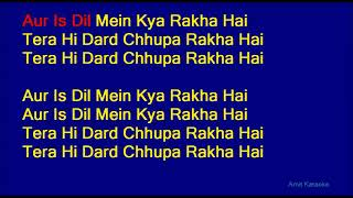 Aur Is Dil Main 🎤 Karaoke