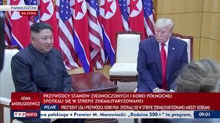 Spotkanie Prezydenta Donalda Trumpa i Kim Dzong Una