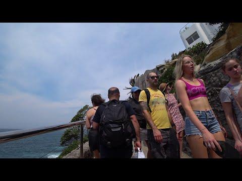 SYDNEY City TOUR - Famous Bondi Beach PART 2