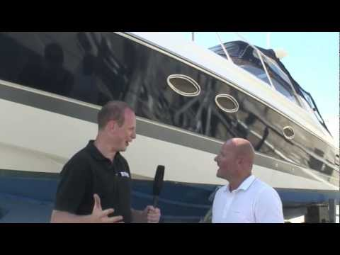 Vinyl hull wrapping with Motor Boat & Yachting