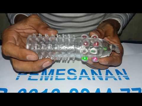 Kondom Mutiara Bergerigi Silikon, Cara Pakai Kondom Sambung Berduri, Kondom SambungJumbo