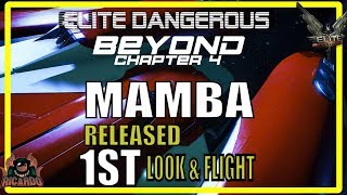 Elite: Dangerous The Mamba 1st Look and Test Flight