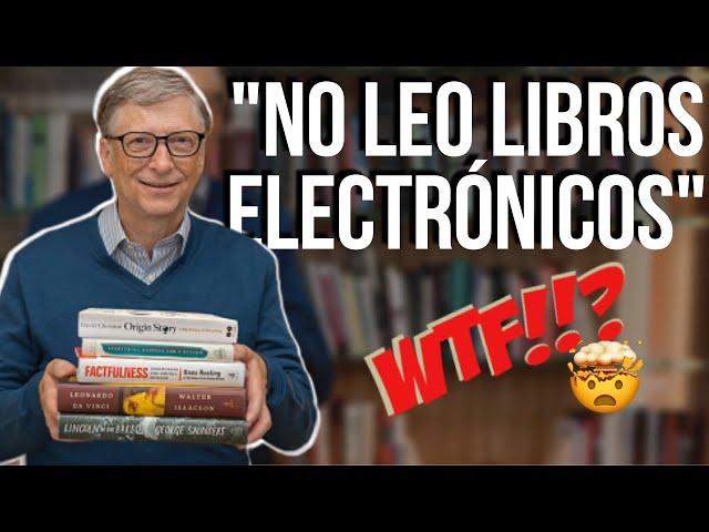 Así lee Bill Gates: 4 exitosos hábitos de lectura para adquirir en 2021