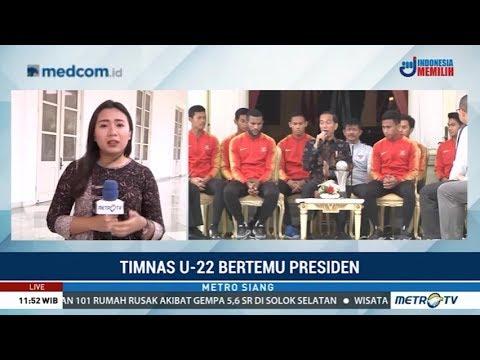 Timnas U-22 Bertemu Jokowi, Setiap Pemain Diganjar Bonus Rp200 Juta