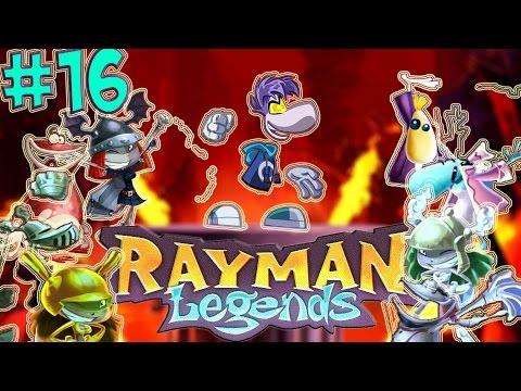 DARK RAYMAN VS. REAVER CREW | RAYMAN LEGENDS PART 16
