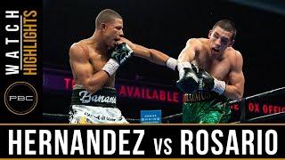 Hernandez vs Rosario HIGHLIGHTS: February 23, 2019 — PBC on FS1