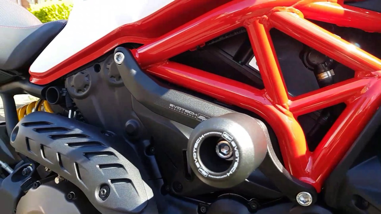 Ducati V Frame Sliders
