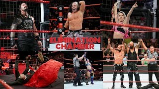 WWE Elimination Chamber 25th Feb 2018 Full Results And Highlights (2/25/2018)