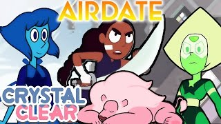 CRYSTAL GEMS EAST - The New Crystal Gems AIRDATE [Steven Universe News]