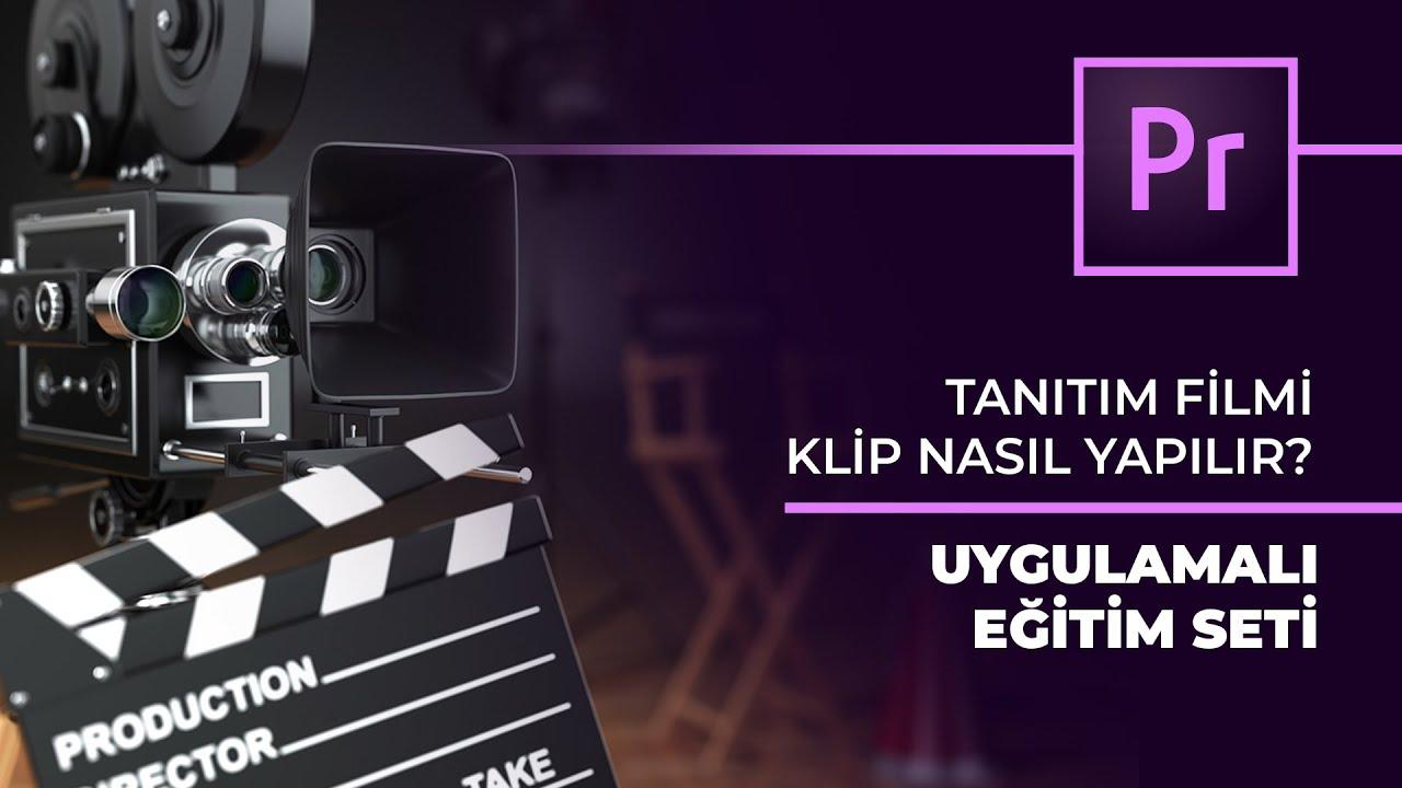 Premiere Pro ile Tanıtım/Reklam Filmi Yapımı (Eğitim Seti)