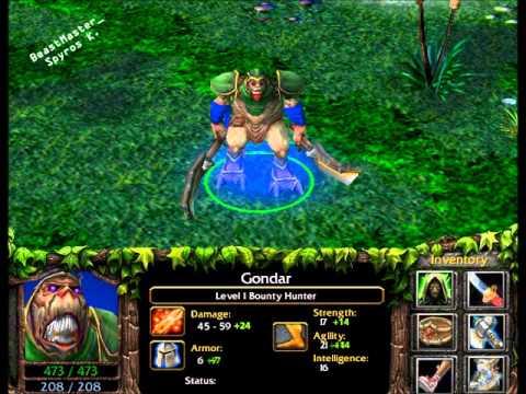 DotA Item Build For Gondar The Bounty Hunter By