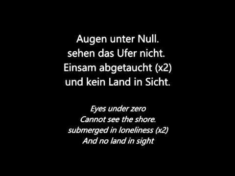 Eisbrecher - Augen Unter Null (German and English Lyrics)