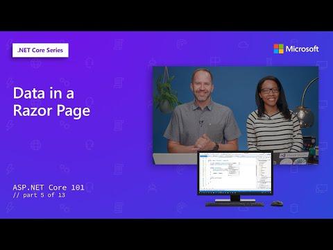 Data In A Razor Page   ASP.NET Core 101 [5 Of 13]