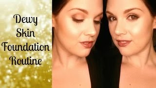 Dewy Skin Makeup Tutorial Thumbnail