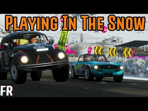 Forza Horizon 4  - RWD Playing In The Snow (Fortune Island) thumbnail
