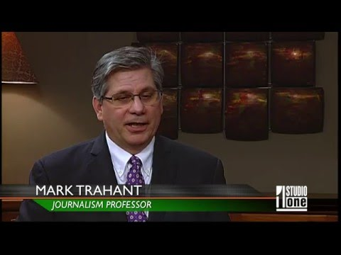 Interview with UND professor and former PBS Frontline journalist Mark Trahant