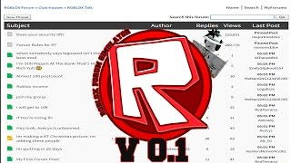Test del simulatore di forum Roblox (V 0.1)