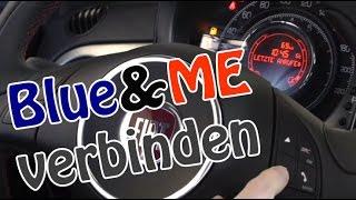 Blue&Me Freisprecheinrichtung mit dem Smartphone/Handy koppeln