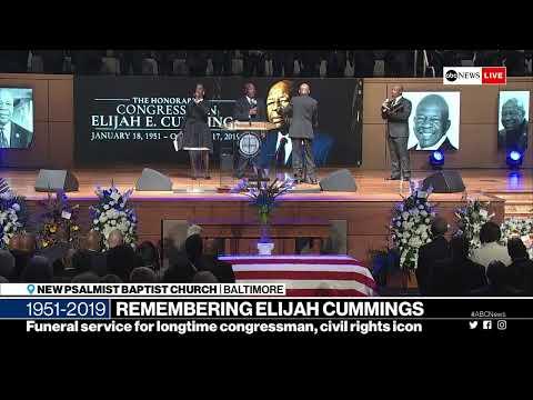 Rep. Elijah Cummings Funeral services in Baltimore