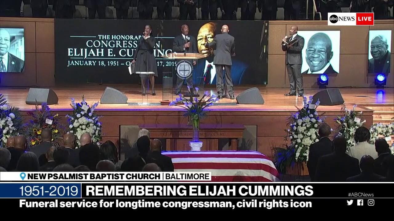 Three who eulogized Rep. Elijah Cummings at funeral in Baltimore ...