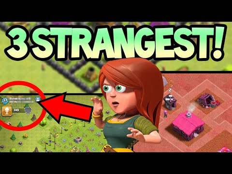 TOP 3 STRANGEST Villages in Clash of Clans! Can YOU Explain them?