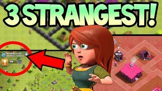 TOP 3 STRANGEST Villages in Clash of Clans! Can...