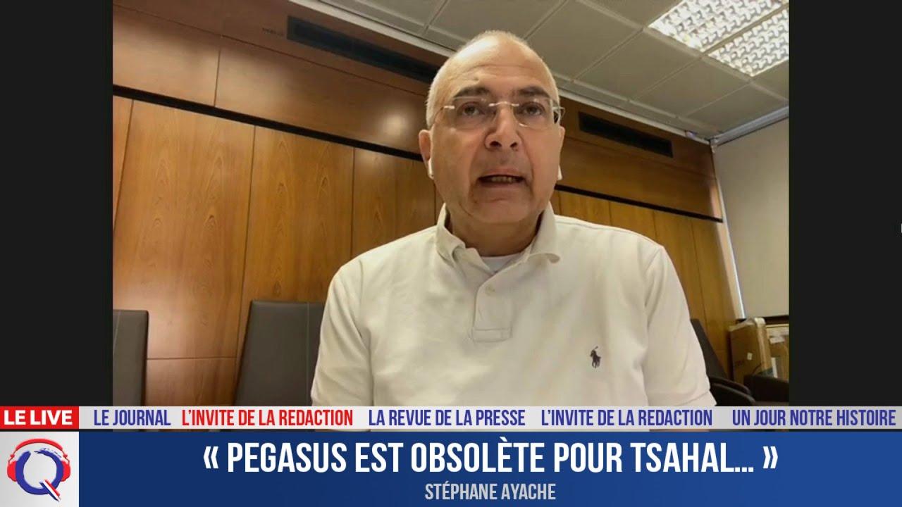 « Pegasus est obsolète pour Tsahal… » - L'invité du 21 juillet 2021